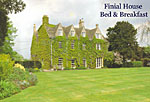 finial house bed breakfast lechlade bushyleaze trout fly fishing